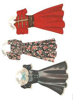 Deanna Durbin, clothes for doll 3 and 2