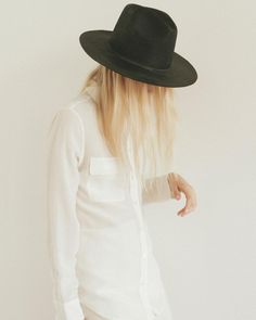 Always loved how a hat makes a silhouette more elegant   by @thedreslyn #popmap Shop at https://popmap.com