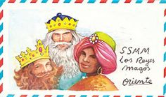 cartas vintage para los Reyes Magos