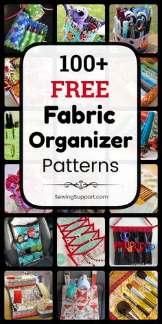For Women – Sterling & Boss Fabric Organizer DIY: 100 free fabric organizer sewing patterns diy projects and tutorials. Diy Sewing Projects, Sewing Projects For Beginners, Sewing Hacks, Sewing Tutorials, Sewing Tips, Sewing Patterns Free, Free Sewing, Fabric Patterns, Hand Sewing