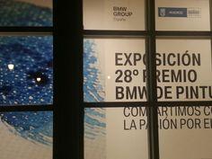 """Cartel de la exposición """"Premios BMW de Pintura"""" 2013. Casa de Vacas del Retiro. Madrid. https://twitter.com/arterecord"""