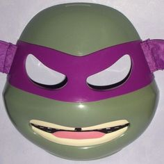 #Teenage mutant ninja turtles deluxe #donatello mask - don donny donnie #purple v,  View more on the LINK: http://www.zeppy.io/product/gb/2/222268449226/