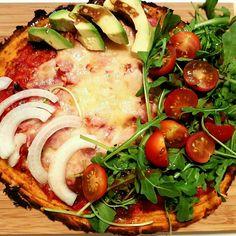 Pizza à la patate douce