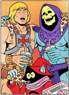 Ah Skeletor, you crack me up.