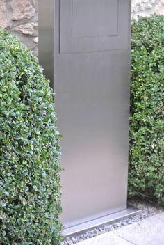 briefkastenanlage bretagne mit 3 briefk sten zum einbetonieren in ral 7016 anthrazitgrau. Black Bedroom Furniture Sets. Home Design Ideas