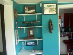 Dinning room shelves