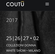 White Show Milan Coutūcollection