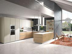 Modern Kitchen Designs | Orange Modern Kitchen | Snaidero USA