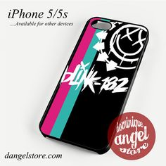 Blink 182 Logo 4 Phone case for iPhone 4/4s/5/5c/5s/6/6 plus