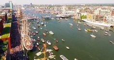 Een aantal hoogtepunten van het unieke event Sail Amsterdam!