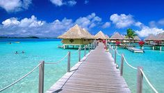 """Most beautiful beaches in the world, """"Beach Bora - Bora"""".Choice Your HolidayMost beautiful beaches in the world, """"Beach Bora - Bora"""". Vacation Places, Honeymoon Destinations, Dream Vacations, Vacation Spots, Places To Travel, Places To Visit, Vacation Packages, Vacation Ideas, Bali Packages"""