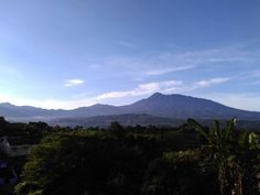 Gunung Gede & Pangrango Bogor from my room