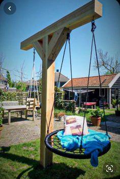 Backyard Swings, Backyard Playground, Backyard For Kids, Backyard Projects, Outdoor Projects, Backyard Patio, Backyard Landscaping, Playground Flooring, Outdoor Fun