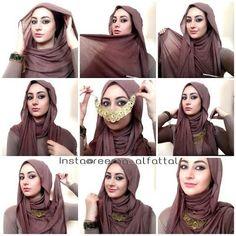 Cara Memakai Hijab Pashmina Sederhana Terbaru