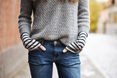 Stylish Jeans With Sweater