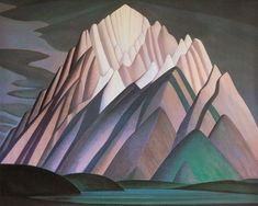 Mountain Forms Wall Art by Lawren Harris of the Group of Seven Collection at Great BIG Canvas. Framed Prints, Canvas Prints, Big Canvas, Red Houses, Group Of Seven, Mountain Art, Landscape Art