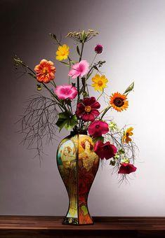 Impressive flowers still life