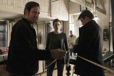 BTS Castle Stana Katic Nathan Fillion