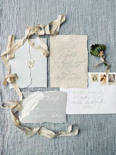 fine art invitation suite {trendy bride} http://www.trendybride.net/eye-catching-wedding-stationery/