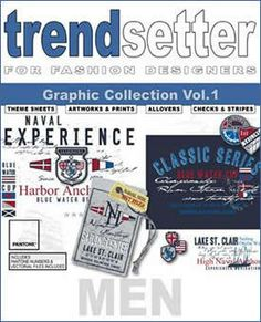 Trendsetter - Men Graphic coll. Vol 1 { + DVD} Graphic Design