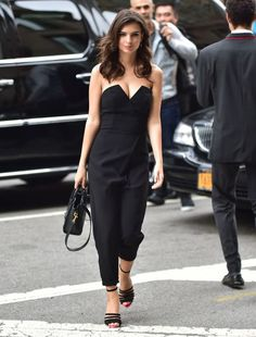Emily Ratajkowski out in New York. See all of the model's best looks.