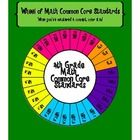 This fun wheel of standards includes all 28 Common Core math standards for grade. Display the colorful copy in your classroom and provide each . Common Core Math Standards, 4th Grade Math, Math Classroom, Special Education, Colorful, Display, Awesome, Fun, Ideas