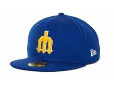 Seattle Mariners New Era MLB Cooperstown 59FIFTY Hats