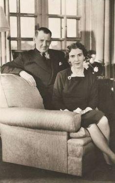 King Frederik IX and Queen Ingrid of Denmark.