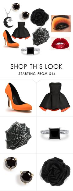 """Happy Halloween"" by lbaker-ct on Polyvore featuring Shoes of Prey, Parlor, Bernard Delettrez, BERRICLE, Kate Spade, Accessorize and Jewel Exclusive"