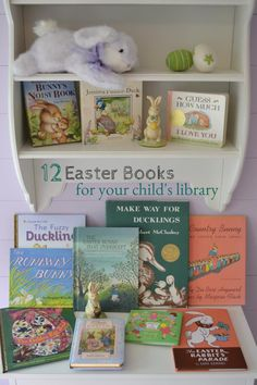 Easter Books for your child's library via shimmerandshinedesign.blogspot