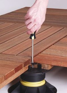 Floating roof deck system that you'll find easy than you think to install ... if you have the right waterproofing under it.