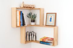 Corner Shelf: Display Cabinet Or Shadow Box