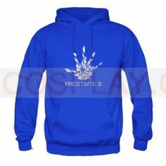 Battlefield 4 Cosplay Frostbite 3 Costume Engine Logo Thick Hoodie xcoser