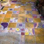 Keeyla Meadows colors her garden world