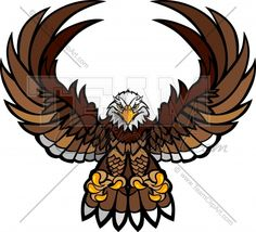 Eagles Claw Logo Clipart