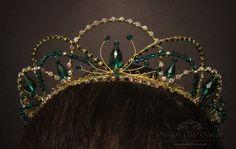 Green/Emerald Jewel Fairy Tiaras