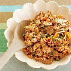 Low cal crockpot Chicken Jambalaya. Plus other low cal chicken meals.  By fitness magazine.