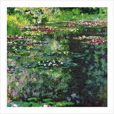 Water Lilies II 1914 - Monet