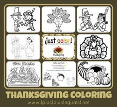 Just Color! ~ Free Coloring Printables for Fall Fun theme and Thanksgiving Theme. Thanksgiving Placemats, Thanksgiving Preschool, Fall Preschool, Preschool Crafts, Thanksgiving Ideas, Holiday Ideas, Preschool Ideas, Daycare Crafts, Kids Crafts