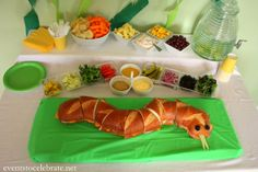 Jungle Book Party Food with snake sandwich and #junglefresh sides! #shop #cbias