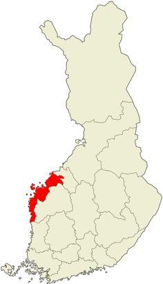 Ostrobothnia - province of Western Finland - Pohjanmaa - Österbotten