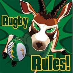 Rugby rules #SARugby #springboks Rugby Images, Rugby Pictures, Springbok Rugby Players, Go Bokke, Rugby Rules, Rugby Cake, Sports Team Logos, World Rugby