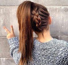 backwards braid