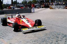 Gilles Villeneuve (Scuderia Ferrari), Ferrari 312T3 - Ferrari Tipo 015 3.0 Flat-12 (RET), 1978 United States Grand Prix West, Long Beach (California)