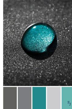 ZJ Colour Palette 1075 #colourpalettes #colourinspiration - #Colour #colourinspiration #colourpalettes #palette #ZJ Colour Pallette, Colour Schemes, Color Combos, Room Colors, House Colors, Colours, Foto Picture, Palette Deco, Color Balance