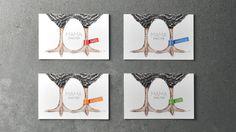 la chaîne d'hôtel MAMA SHELTER et ses cartes de visite