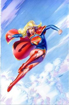 Supergirl by Mike Mayhew