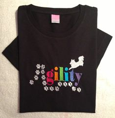 Hey, I found this really awesome Etsy listing at https://www.etsy.com/listing/239481419/dog-agility-design-embroidered-tee-with