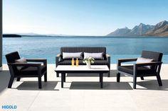 champion-meble-ogrodowe-aluminiowe-zestaw-wypoczynkowy-higold-luksusowe-meble-ogrodowe Best Outdoor Furniture, Corfu, Lounge, Garden, Outdoor Decor, Modern, Champion, Design, Home Decor