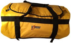 Th3LEGENDS Outdoor Gearbag Backpack 60L Waterproof Tarpaulin600D, Yellow, One Size. Gear bag/ backpack carrying features. Welded seams waterproof construction. 60leter gear bag holds a lot of gear and water proof construction keeps it dry and protected. 4 methods to carry your gear bag, backpack, shoulder bag, hand carry ,compression handles side grip carry. Outdoor waterproof gear bag has 4 tie downs one on each corner of your bag and 2 heavy compression side handles for easy maneuvering...